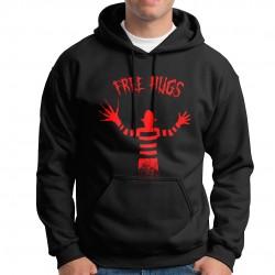 free hugs - Black Hoodie